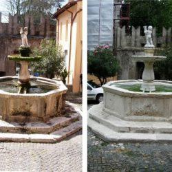 Fontana del pupazzo a Palestrina 1