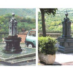 Fontana in ghisa a Fiuggi orizz