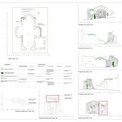 Consolidamenti proposti per la Chiesa di San Rocco