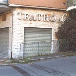 Ingresso al teatro_ante operam