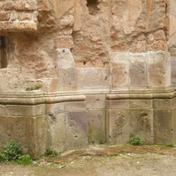 Particolare della mancanza dei piloni all'interno della Chiesa di San Bonaventura_ante operam