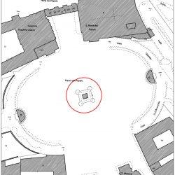 Planimetria catastale della fontana