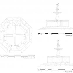 Prospetto CC'_rilievo architettonico