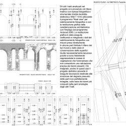 Rilievo metrico e architettonico del tratto Est di Viale Castrense