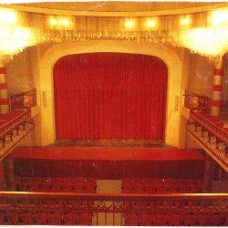 Veduta della sala verso il palcoscenico_ante operam
