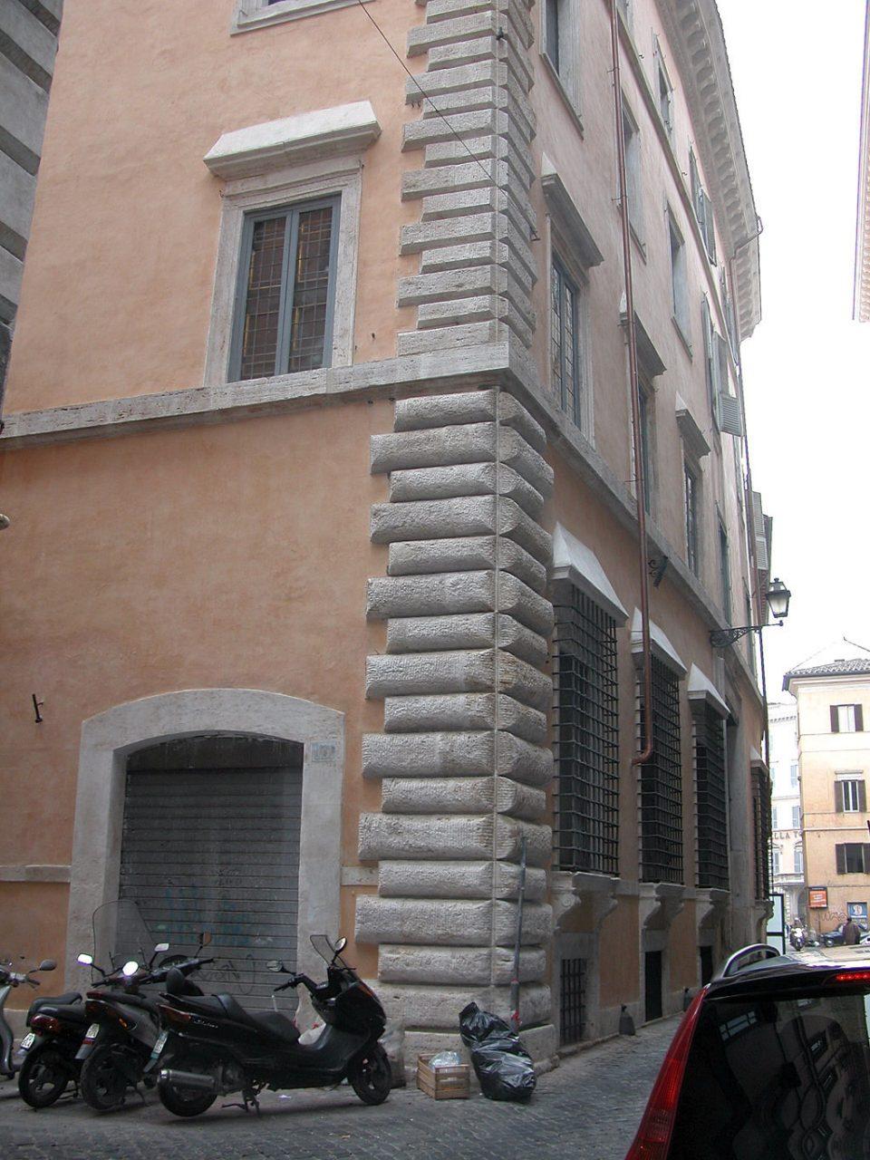 Veduta dell'angolo tra Via De' Nari e Via Monterone_post operam