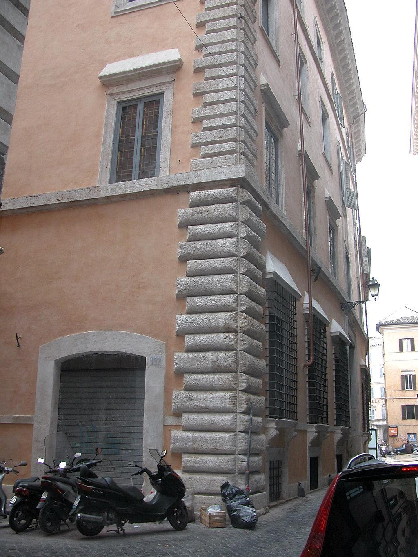 Palazzo sinibaldi xvi sec roma architetto anelinda - Architetto palazzo congressi roma ...