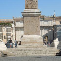 Veduta generale della fontana prima dei lavori