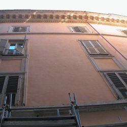 Veduta parziale del prospetto su Via De' Nari_post operam