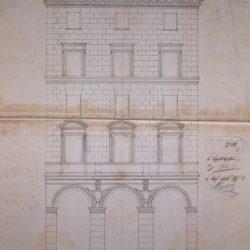 Prospetto su Piazza Farnese_documento di archivio