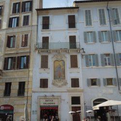 Prospetto su Piazza della Rotonda_ante operam