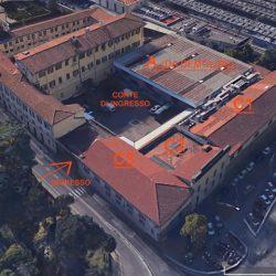 Veduta aerea dell'area di progetto