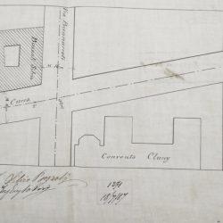 Planimetria del palazzo_documento d'Archivio