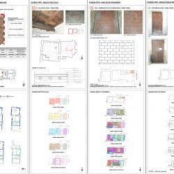 Analisi degli elementi costruttivi e delle finiture_schede tipo e quadri sinottici