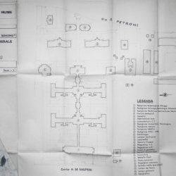Planimetria dell'Ospedale militare