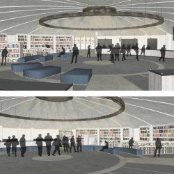 Proposta di progetto_simulazione fotografica dello spazio interno