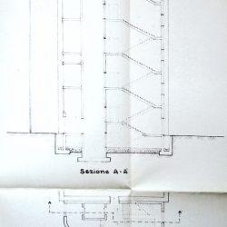 Dettaglio delle scale di emergenza aggiunte nel 1986_documento d'archivio