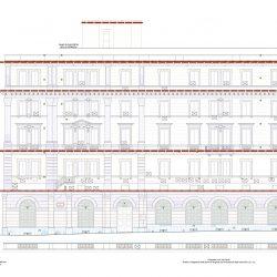 Progetto di restauro_Prospetto via Flavia
